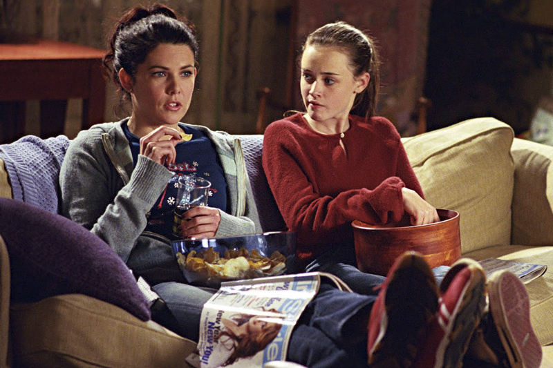 Series romanticas na Netflix Gilmore Girls