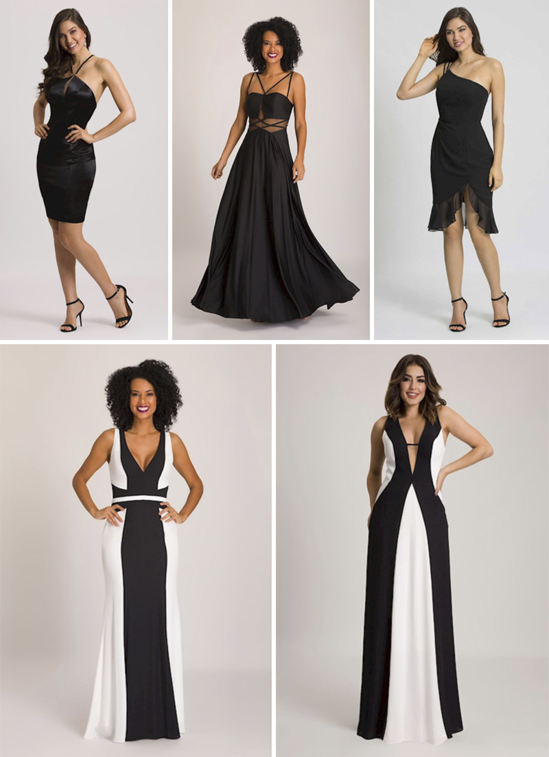vestidos de festa pretos