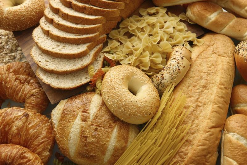 alimentos com gluten