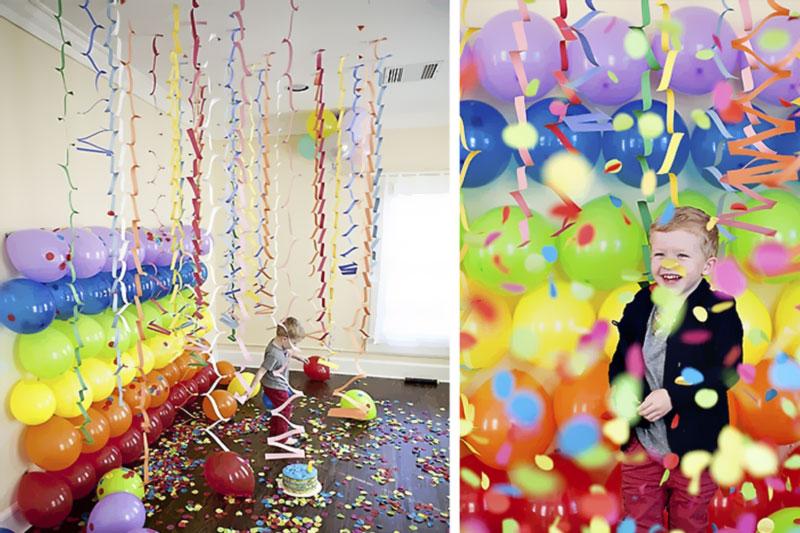 baloes coloridos para festa de dia das criancas