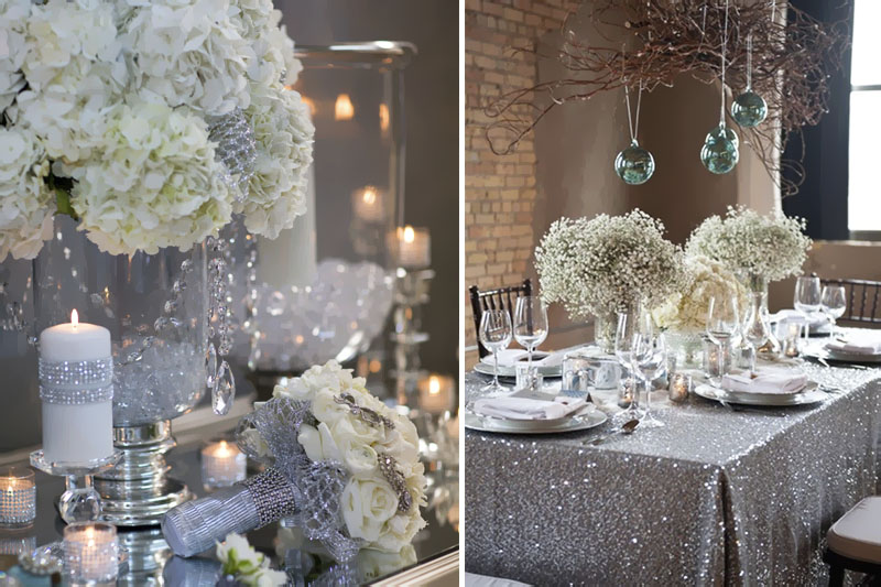 bodas de cristal festa tematica