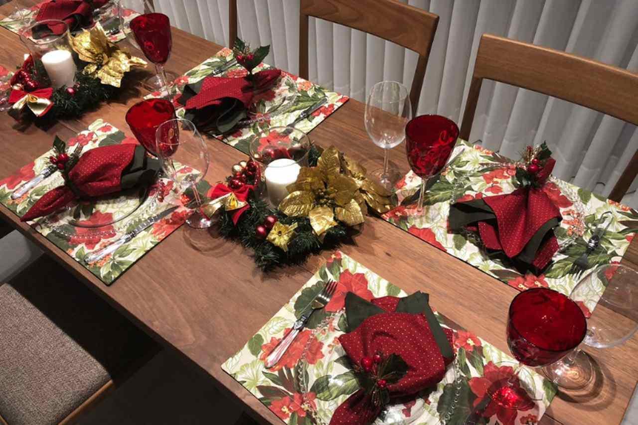 Centro de Mesa de Natal - Simples e Fácil