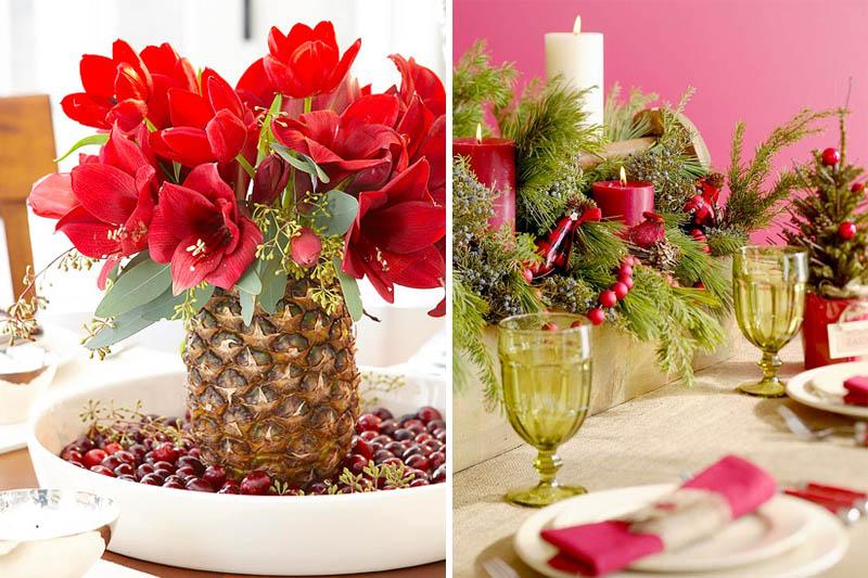 Arranjo Floral de Abacaxi