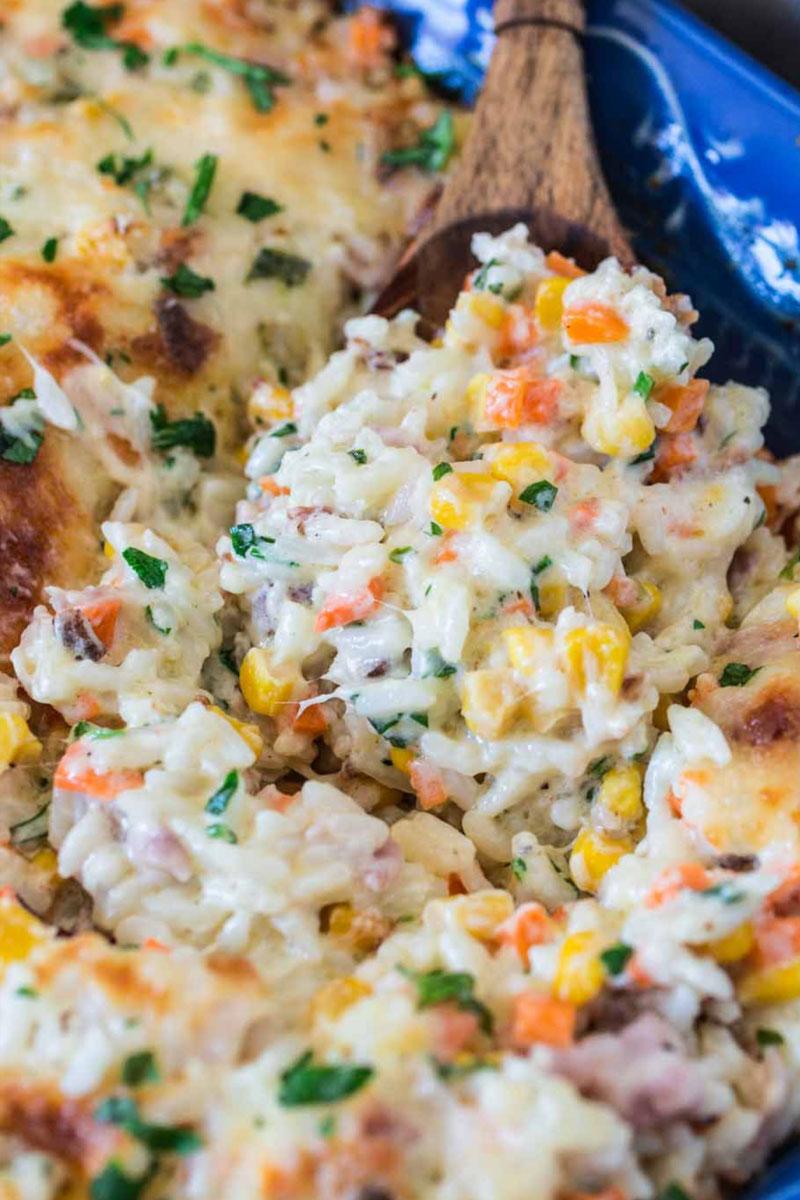 receita de arroz de forno para ceia de natal tradicional
