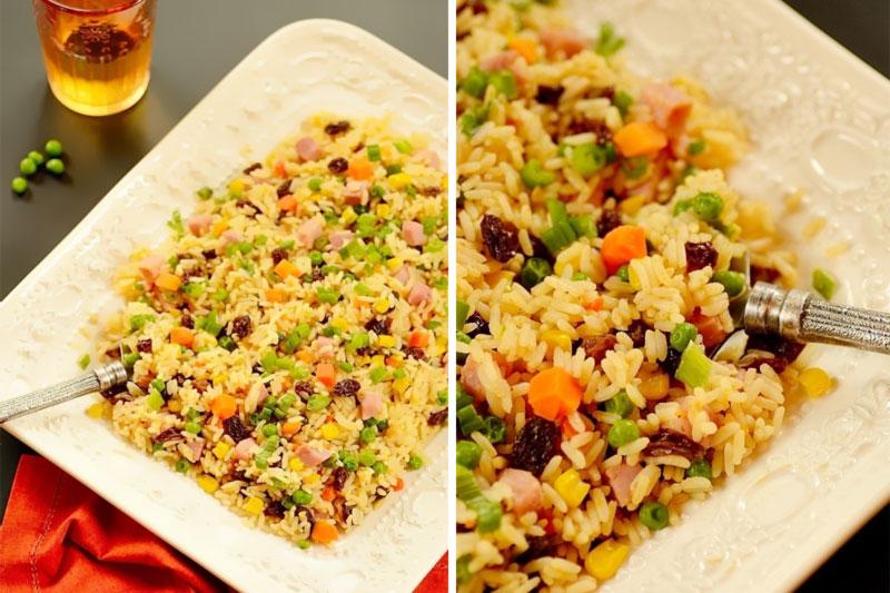 receita de arroz a grega para ceia de natal tradicional