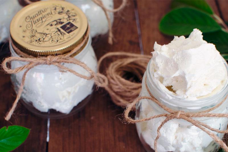 receita de manteiga de corpo caseira
