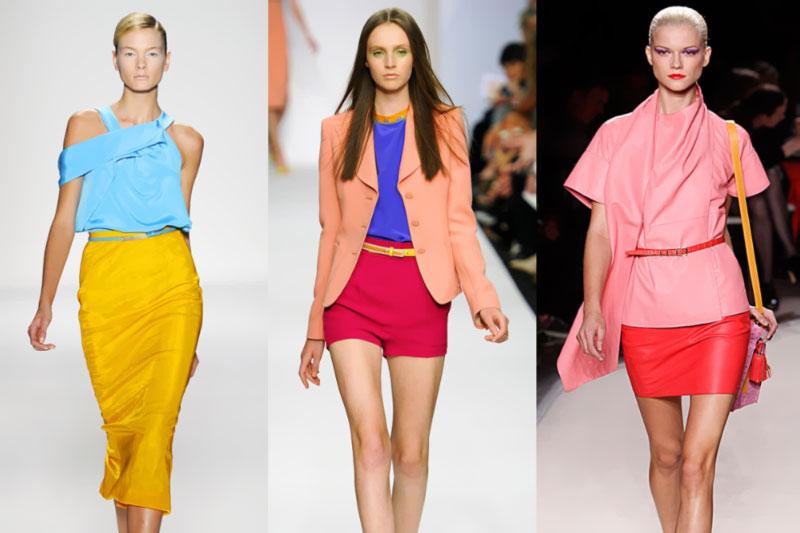 roupas coloridas para o ano novo