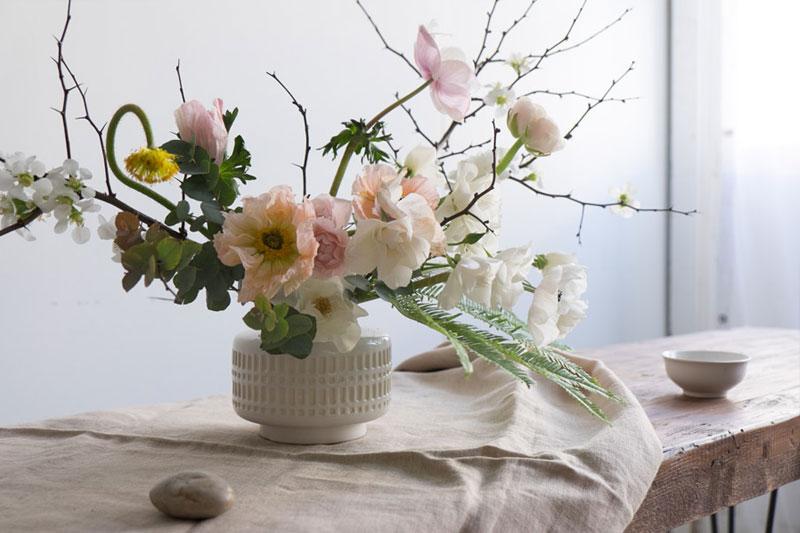 arranjo de flores natural