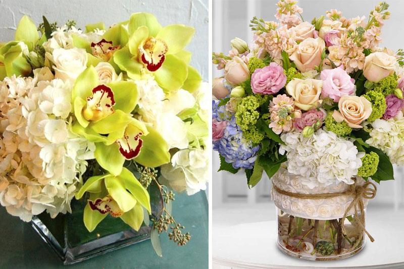 arranjos de flores criativos