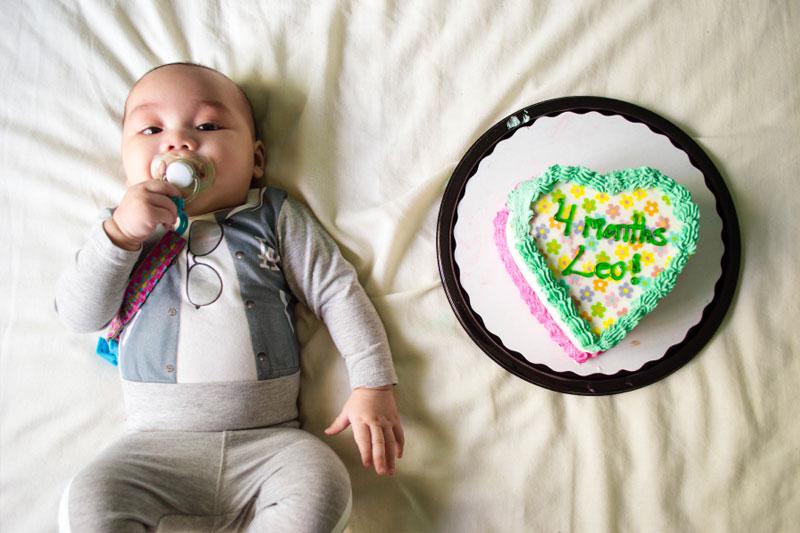 mesversario bebe