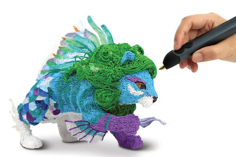 presente criativo para homens caneta impressora 3D