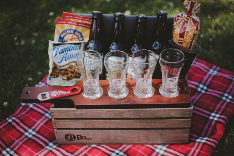 presente criativo para homens kit de cervejas