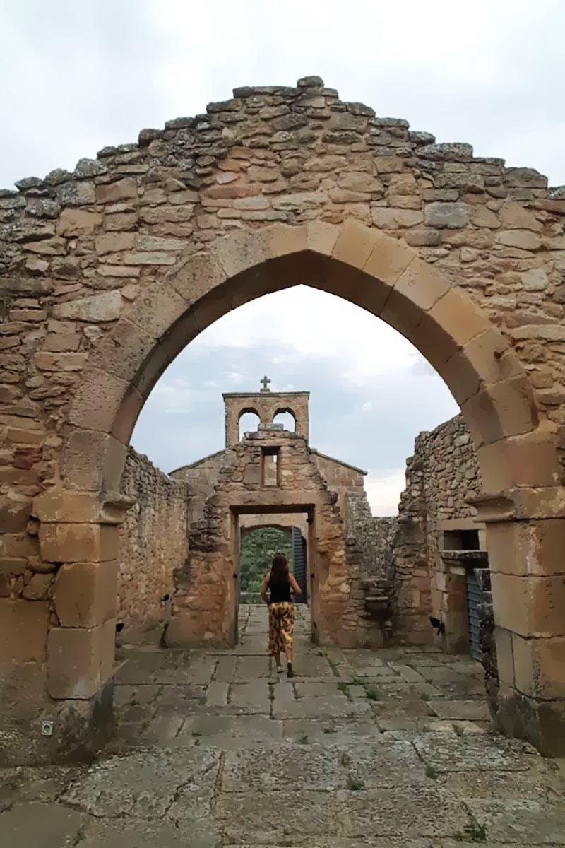 Aldeia histórica Castelo Mendo em Portugal