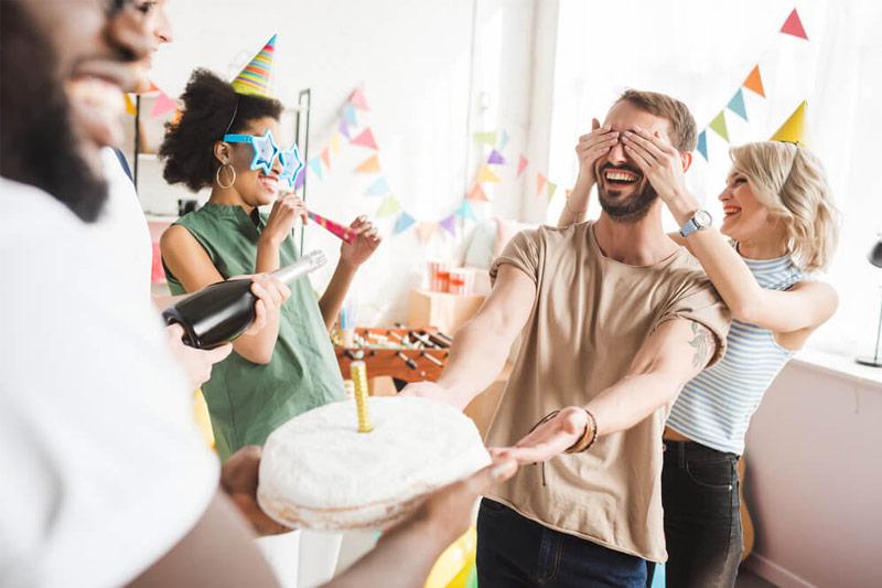 festa surpresa para namorado