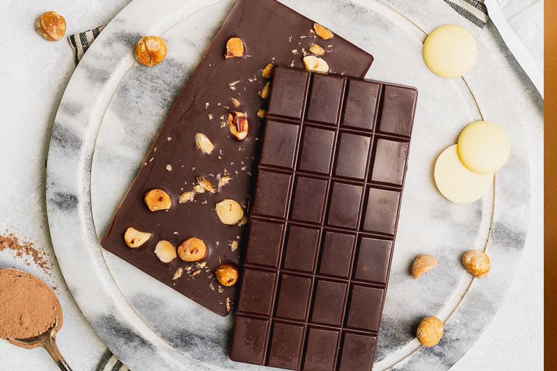 receita de chocolate vegano