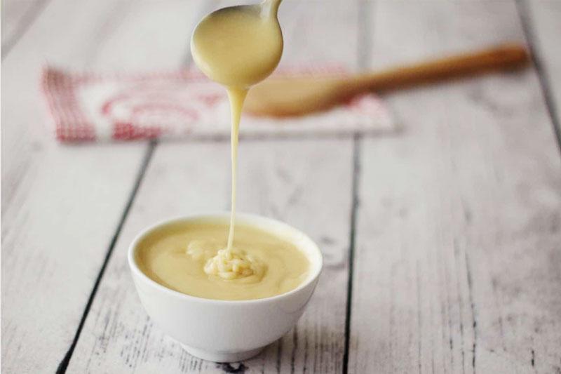 receita vegana de leite condensado