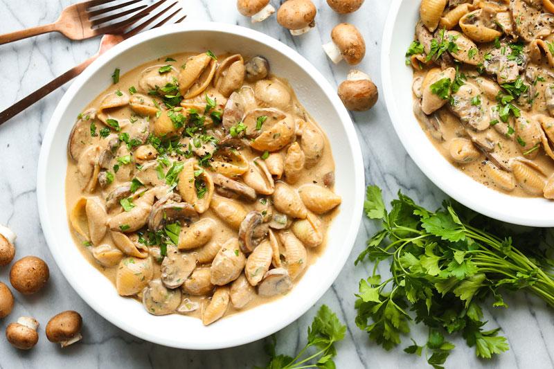 receita de estrogonofe de cogumelos