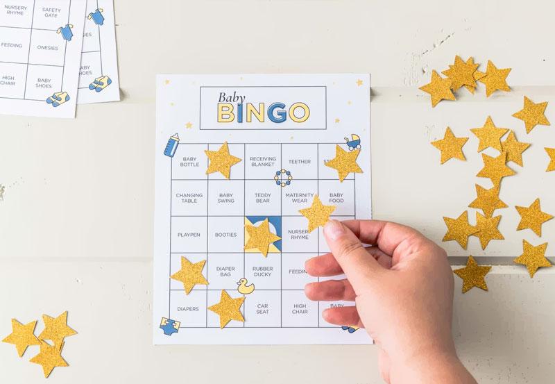 bingo para cha de fraldas