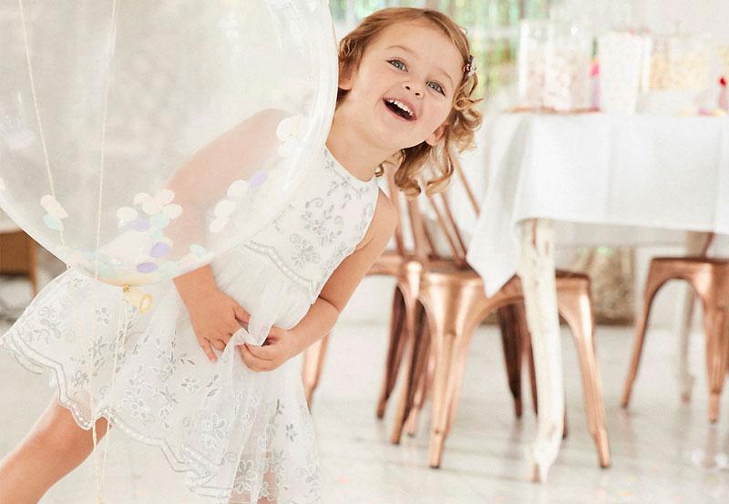 dicas para vestido de festa infantil