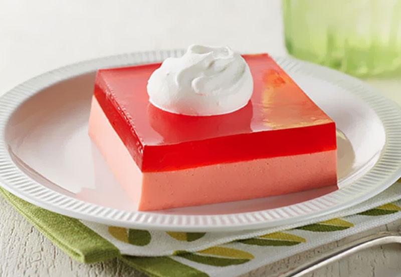 receita de gelatina meio a meio