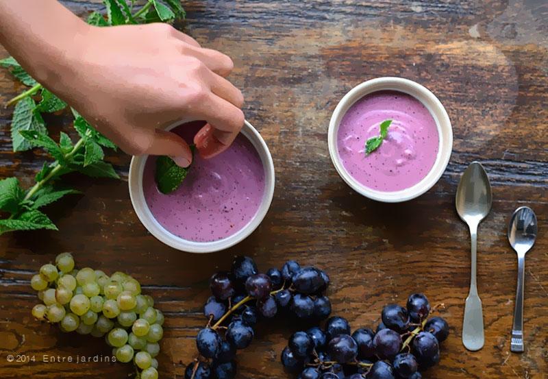 receita de mousse de uva