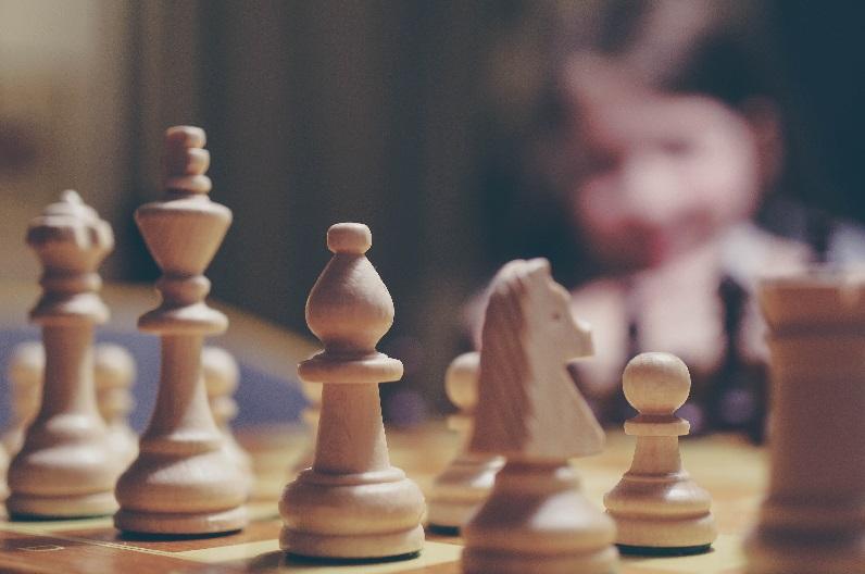 tabuleiro de xadrez para presente
