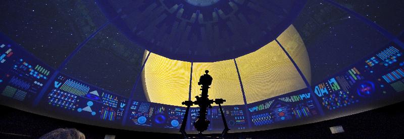 planetario espaço conhecimento