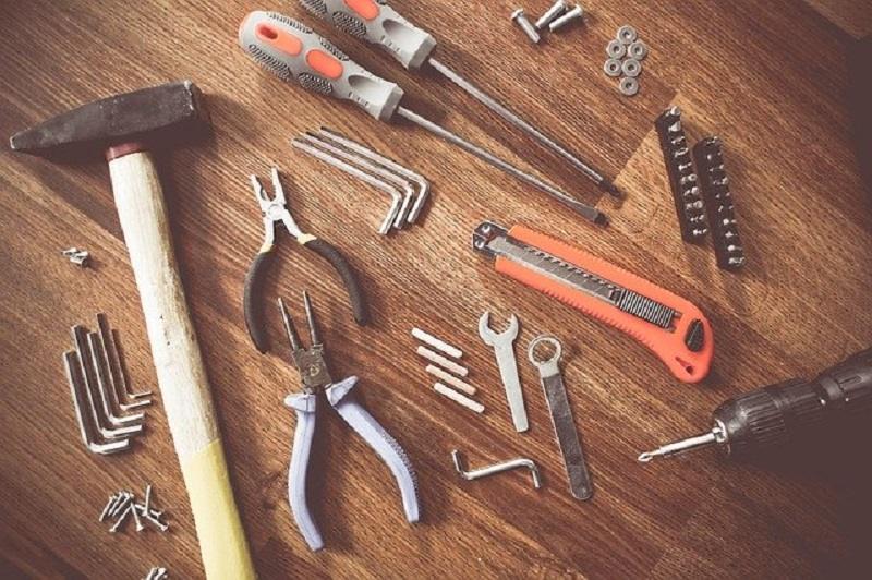 ferramentas para manutenção
