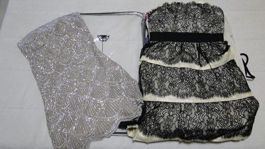 vestidos de festa organizados