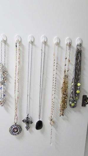 organização de colares